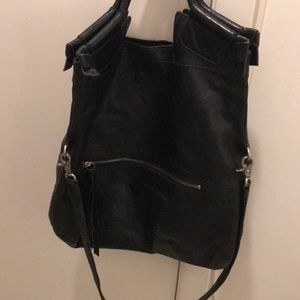 Black foley & Corinna bag